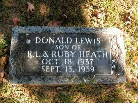 HEATH, DONALD LEWIS - Boone County, Arkansas   DONALD LEWIS HEATH - Arkansas Gravestone Photos