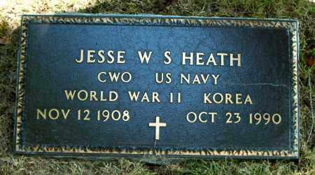 HEATH  (VETERAN 2 WARS), JESSE W.  S. - Boone County, Arkansas | JESSE W.  S. HEATH  (VETERAN 2 WARS) - Arkansas Gravestone Photos