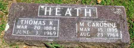 HEATH, MARTHA CAROLINE - Boone County, Arkansas | MARTHA CAROLINE HEATH - Arkansas Gravestone Photos