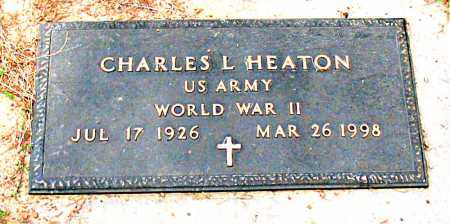 HEATON  (VETERAN WWII), CHARLES L - Boone County, Arkansas | CHARLES L HEATON  (VETERAN WWII) - Arkansas Gravestone Photos