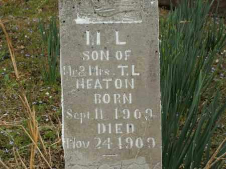 HEATON, M.L. - Boone County, Arkansas | M.L. HEATON - Arkansas Gravestone Photos