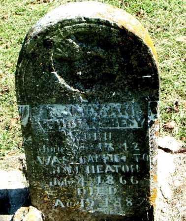 THORNBERRY HEATON, NANCY ANN - Boone County, Arkansas   NANCY ANN THORNBERRY HEATON - Arkansas Gravestone Photos
