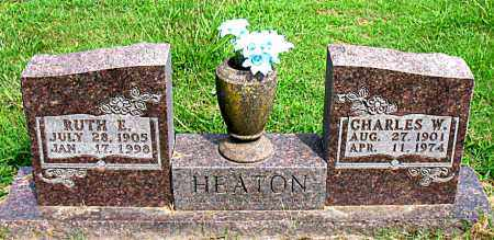 HEATON, RUTH E. - Boone County, Arkansas   RUTH E. HEATON - Arkansas Gravestone Photos
