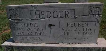 HEDGER, REUBEN - Boone County, Arkansas   REUBEN HEDGER - Arkansas Gravestone Photos