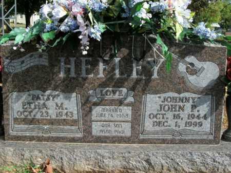 HEFLEY, JOHN P. - Boone County, Arkansas   JOHN P. HEFLEY - Arkansas Gravestone Photos