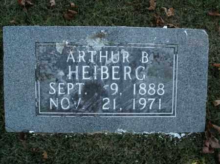 HEIBERG, ARTHUR B. - Boone County, Arkansas | ARTHUR B. HEIBERG - Arkansas Gravestone Photos