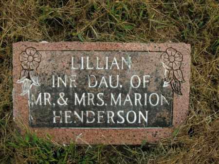 HENDERSON, LILLIAN - Boone County, Arkansas | LILLIAN HENDERSON - Arkansas Gravestone Photos
