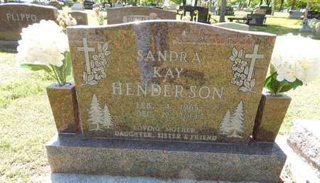 HENDERSON, SANDRA KAY - Boone County, Arkansas   SANDRA KAY HENDERSON - Arkansas Gravestone Photos