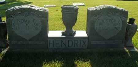 HENDRIX, NOMA FRANCES - Boone County, Arkansas   NOMA FRANCES HENDRIX - Arkansas Gravestone Photos