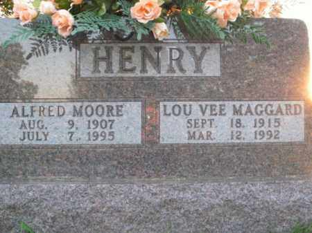 HENRY, ALFRED MOORE - Boone County, Arkansas | ALFRED MOORE HENRY - Arkansas Gravestone Photos