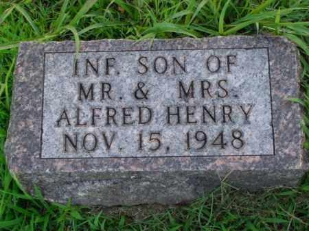 HENRY, INFANT SON - Boone County, Arkansas | INFANT SON HENRY - Arkansas Gravestone Photos