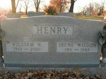 HENRY, WILLIAM W. - Boone County, Arkansas | WILLIAM W. HENRY - Arkansas Gravestone Photos