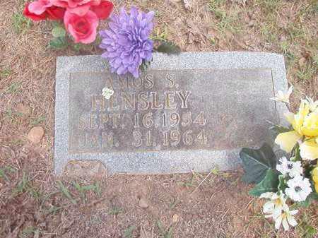 HENSLEY, AMOS  S. - Boone County, Arkansas | AMOS  S. HENSLEY - Arkansas Gravestone Photos