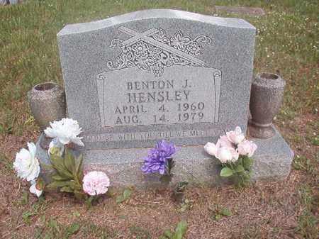 HENSLEY, BENTON  J. - Boone County, Arkansas | BENTON  J. HENSLEY - Arkansas Gravestone Photos