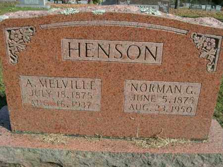 HENSON, NORMAN G. - Boone County, Arkansas   NORMAN G. HENSON - Arkansas Gravestone Photos