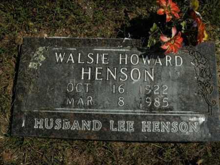 HENSON, WALSIE - Boone County, Arkansas | WALSIE HENSON - Arkansas Gravestone Photos