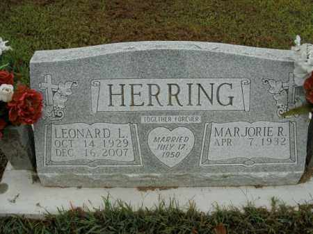 HERRING, LEONARD L. - Boone County, Arkansas | LEONARD L. HERRING - Arkansas Gravestone Photos