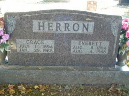 HERRON, EVERETT - Boone County, Arkansas | EVERETT HERRON - Arkansas Gravestone Photos