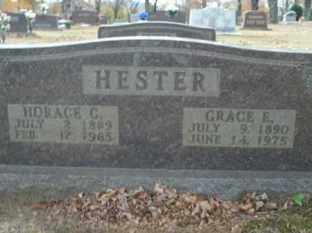 HESTER, HORACE C. - Boone County, Arkansas   HORACE C. HESTER - Arkansas Gravestone Photos