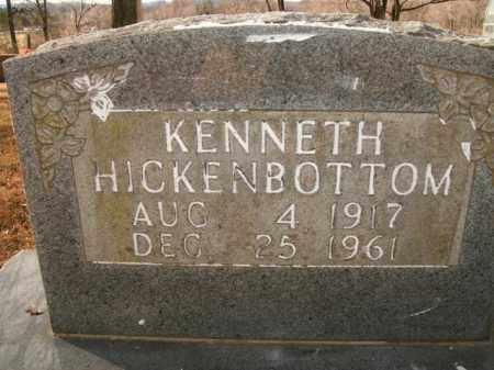 HICKENBOTTOM, KENNETH - Boone County, Arkansas | KENNETH HICKENBOTTOM - Arkansas Gravestone Photos