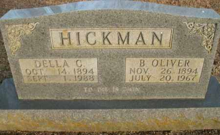 HICKMAN, B. OLIVER - Boone County, Arkansas | B. OLIVER HICKMAN - Arkansas Gravestone Photos