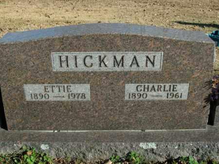 HICKMAN, CHARLIE - Boone County, Arkansas | CHARLIE HICKMAN - Arkansas Gravestone Photos