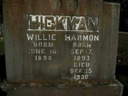 HICKMAN, HARMON - Boone County, Arkansas | HARMON HICKMAN - Arkansas Gravestone Photos