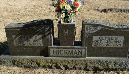 HICKMAN, CLYDE E. - Boone County, Arkansas | CLYDE E. HICKMAN - Arkansas Gravestone Photos