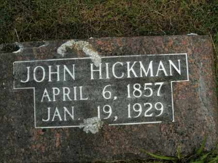 HICKMAN, JOHN - Boone County, Arkansas   JOHN HICKMAN - Arkansas Gravestone Photos