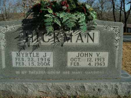 HICKMAN, JOHN VERLON - Boone County, Arkansas | JOHN VERLON HICKMAN - Arkansas Gravestone Photos
