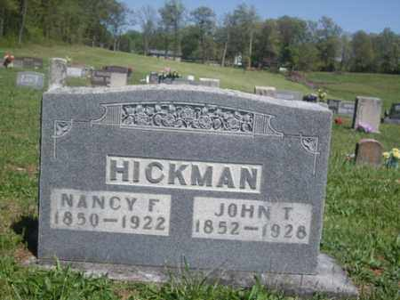 HICKMAN, NANCY F. - Boone County, Arkansas | NANCY F. HICKMAN - Arkansas Gravestone Photos