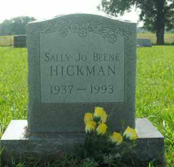 BEENE HICKMAN, SALLY JO - Boone County, Arkansas | SALLY JO BEENE HICKMAN - Arkansas Gravestone Photos