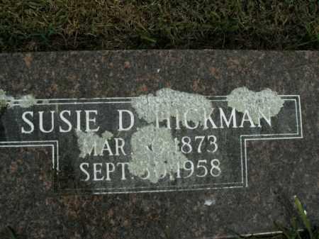 HICKMAN, SUSIE D. - Boone County, Arkansas | SUSIE D. HICKMAN - Arkansas Gravestone Photos