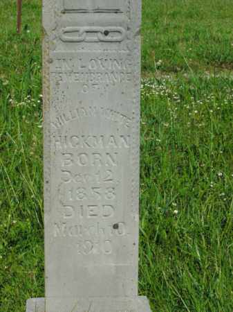 HICKMAN, WILLIAM WHITE - Boone County, Arkansas | WILLIAM WHITE HICKMAN - Arkansas Gravestone Photos