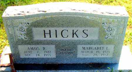 HICKS, AMOS  R. - Boone County, Arkansas   AMOS  R. HICKS - Arkansas Gravestone Photos
