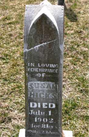 HICKS, SUSAN - Boone County, Arkansas | SUSAN HICKS - Arkansas Gravestone Photos