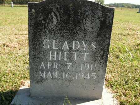 HIETT, GLADYS - Boone County, Arkansas   GLADYS HIETT - Arkansas Gravestone Photos