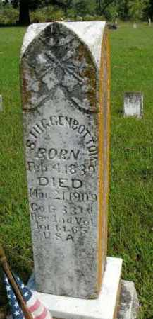 HIGGENBOTTOM  (VETERAN UNION), S. - Boone County, Arkansas | S. HIGGENBOTTOM  (VETERAN UNION) - Arkansas Gravestone Photos