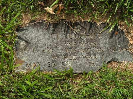 HILL  (VETERAN WWI), CLAUD - Boone County, Arkansas   CLAUD HILL  (VETERAN WWI) - Arkansas Gravestone Photos