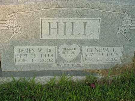 HILL, GENEVA L. - Boone County, Arkansas | GENEVA L. HILL - Arkansas Gravestone Photos
