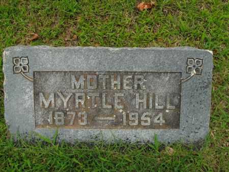 HILL, MYRTLE I - Boone County, Arkansas   MYRTLE I HILL - Arkansas Gravestone Photos