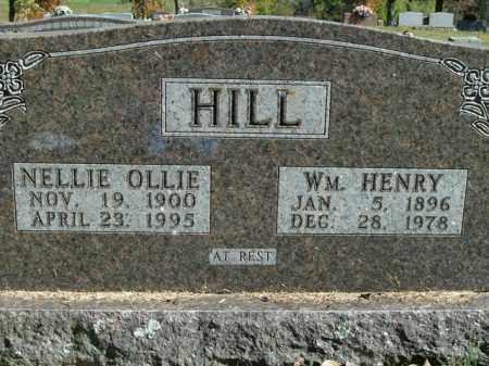 HILL, NELLIE OLLIE - Boone County, Arkansas | NELLIE OLLIE HILL - Arkansas Gravestone Photos