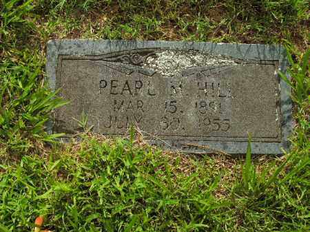 HILL, PEARL M. - Boone County, Arkansas | PEARL M. HILL - Arkansas Gravestone Photos