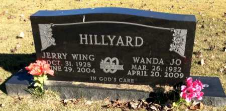 HILLYARD, JERRY WING - Boone County, Arkansas | JERRY WING HILLYARD - Arkansas Gravestone Photos