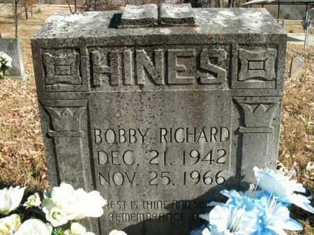 HINES, BOBBY RICHARD - Boone County, Arkansas | BOBBY RICHARD HINES - Arkansas Gravestone Photos