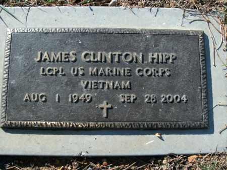 HIPP  (VETERAN VIET), JAMES CLINTON - Boone County, Arkansas   JAMES CLINTON HIPP  (VETERAN VIET) - Arkansas Gravestone Photos
