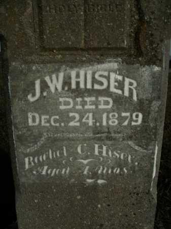 HISER, J. W. - Boone County, Arkansas | J. W. HISER - Arkansas Gravestone Photos