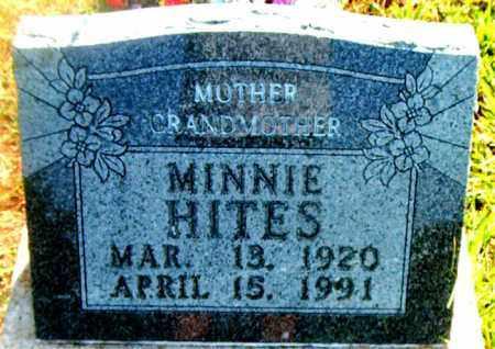 HITES, MINNIE - Boone County, Arkansas | MINNIE HITES - Arkansas Gravestone Photos
