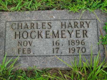 HOCKEMEYER, CHARLES HARRY - Boone County, Arkansas   CHARLES HARRY HOCKEMEYER - Arkansas Gravestone Photos