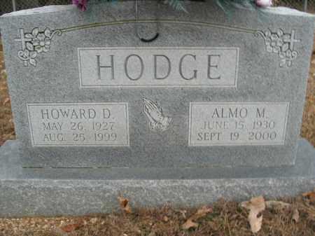 HODGE, ALMO M. - Boone County, Arkansas | ALMO M. HODGE - Arkansas Gravestone Photos